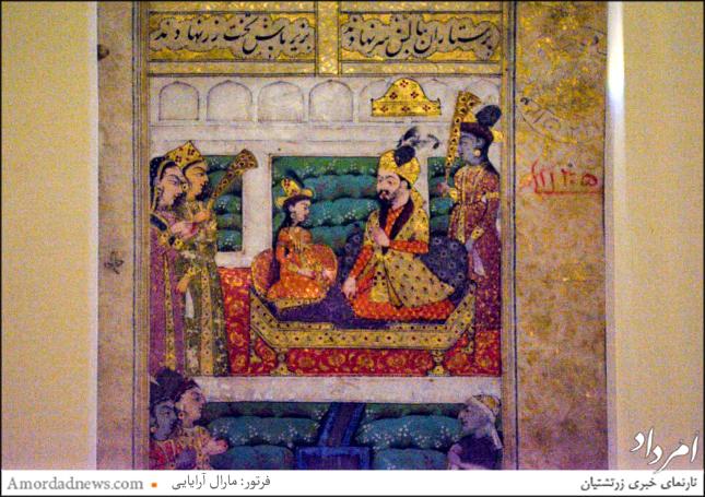 این شاهنامه براساس مکتب هند و مغول نگارگری شدهاست، سده یازدهم مهی