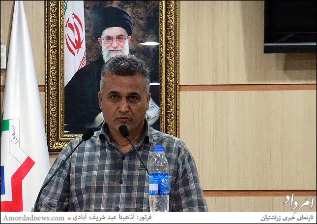 فرشید خدادادیان،  کنشگر فرهنگی و استاد دانشگاه