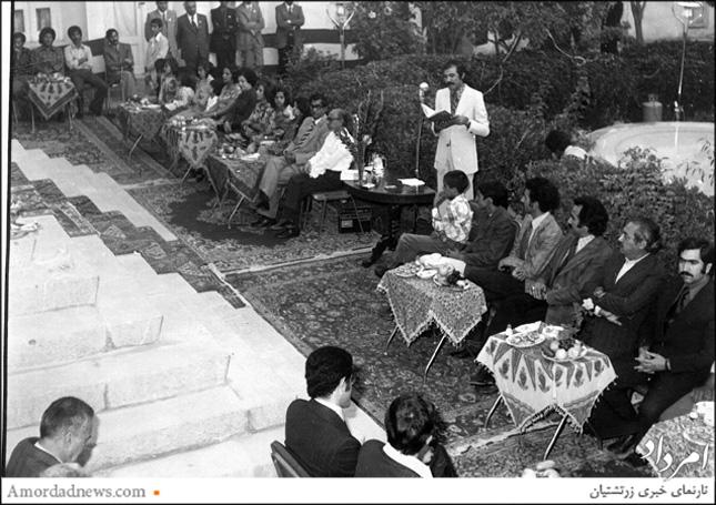 سخنرانی موبد دکتر اردشیر خورشیدیان - گشایش خانهی زرتشتیان اصفهان سال 1350 خورشیدی