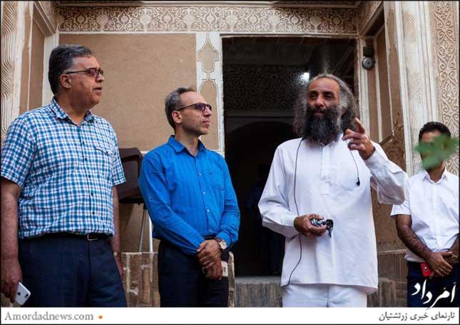 از راست: سیدحسین دُرجو، دبیر اجرایی پویش آب محور همبستگی
