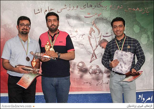 قهرمانان روبیک بزرگسالان: آرشید گشتاسبیان، امید فرامرزی، فرود آذرگشاسبی