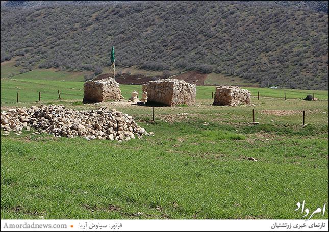 آتشکده میلگه کرمانشاه
