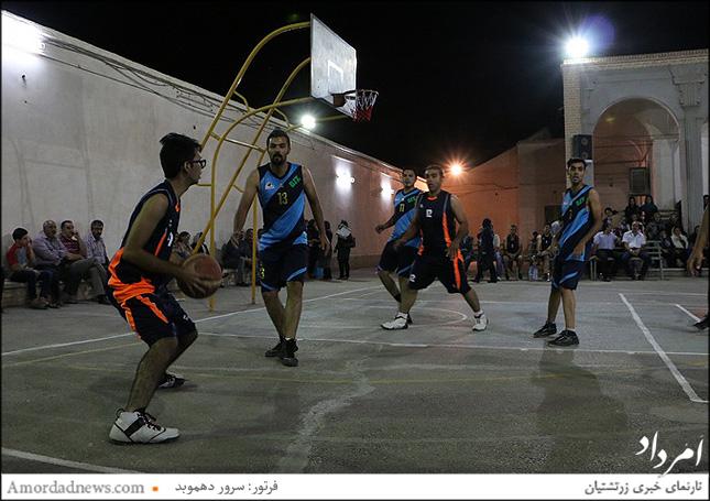 بسکتبال جام راستی