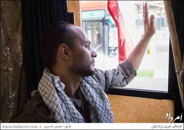 خط اتوبوسی از تجریش تا جبهه