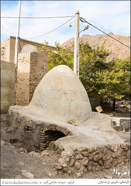 قنات زیارتگاه پارس بانو