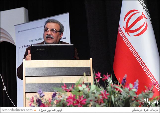 سخنرانی دکتر فرزانه گشتاسب در همایش بینالمللی عدالت ترمیمی - دکتر شهرام پازوکی