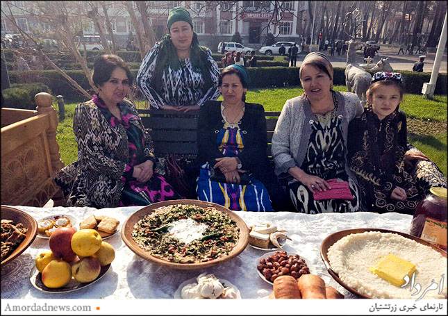 برگزاری آیین نوروز در نوروزگاه تاجیکستان