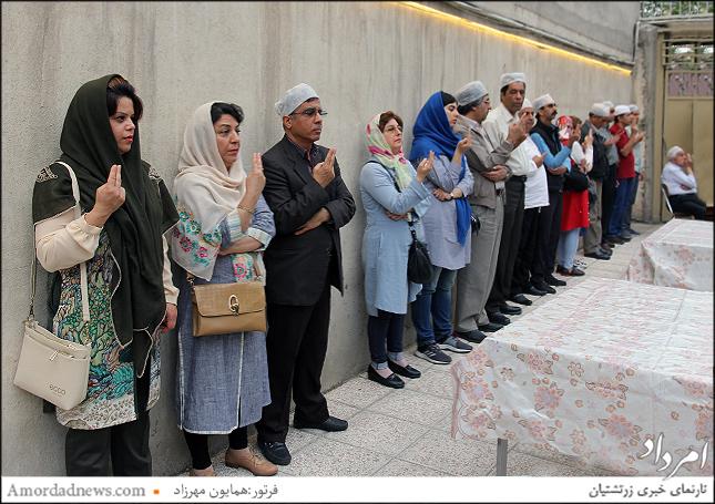 گهنبار میدیوزرمگاه همزمان با هفتمین سال بنیان خانهی فرهنگ و هنر و گرامیداشت روز ملی خلیجفارس برگزار شد