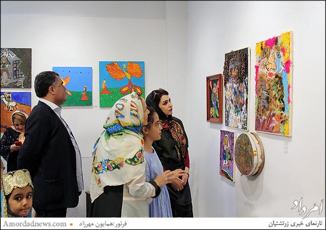 نمایشگاه شاهنامه در نگاه کودک تا چهارشنبه ۲۶ اردیبهشت ماه از ۴ تا ۷ پسین(عصر) میزبان دوستداران است
