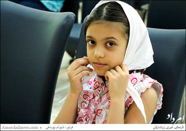 نونهالان و نوباوگان زرتشتی نیز در گهنبار توجی شیراز باشنده بودند