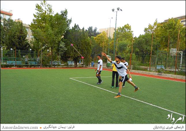 گروه ورزشی ورهرام روز دوم از هفتهی ورزش پیکار لدربال برگزار کرد