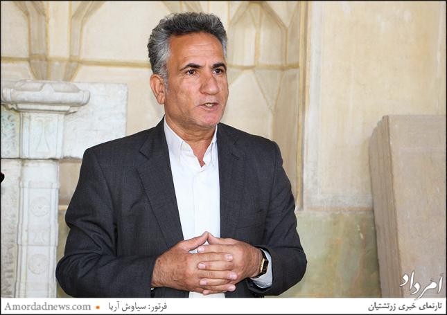 مهندس بهمن محمودی، کارشناس رسمی سازمان میراث فرهنگی