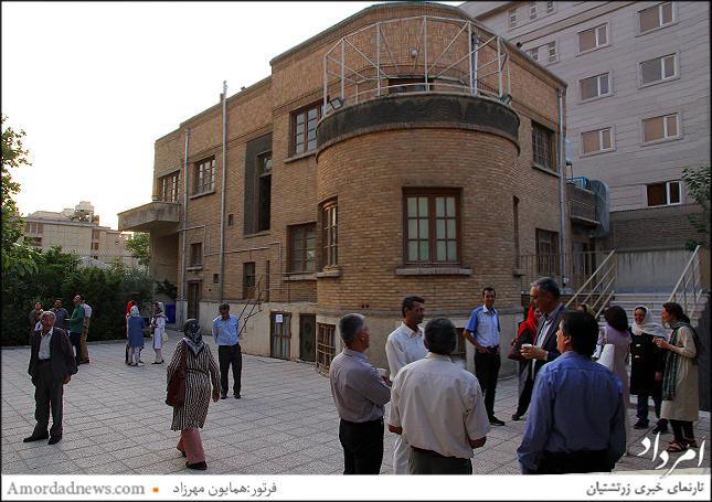 خانهی فرهنگوهنر از دهش روانشاد شاهفریدون زرتشتی به انجمن زرتشتیان تهران بنیان شد