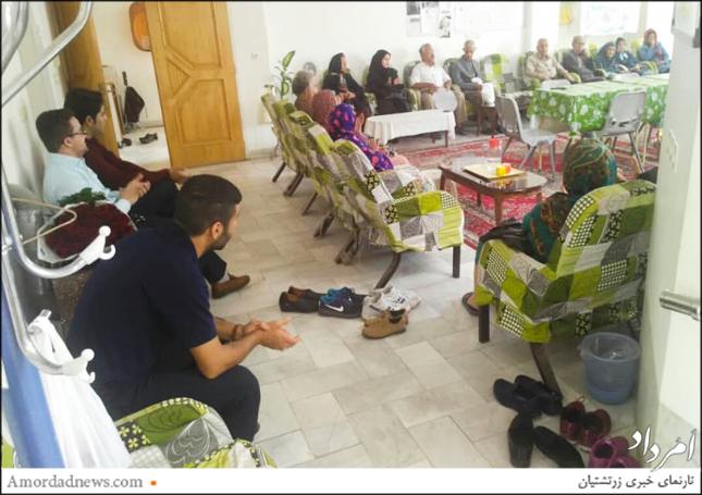 مرکز توانبخشی سالمندان پوروچیستا بنیادی است که 12 سال پیش با هزینهی دهشمندان زرتشتی در شهر الهآباد یزد بنیان شده است