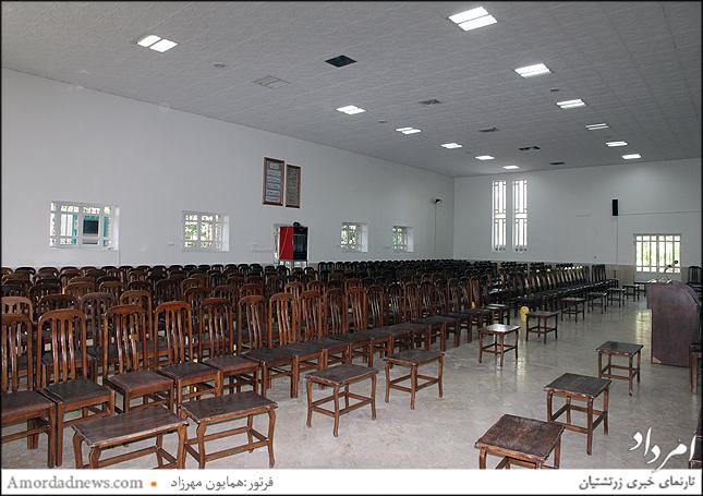 تالار پذیرایی بازسازی بهراه سقف