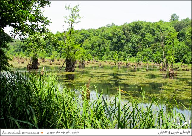 دریاچهی ارواح در دشت ممرز جای دارد