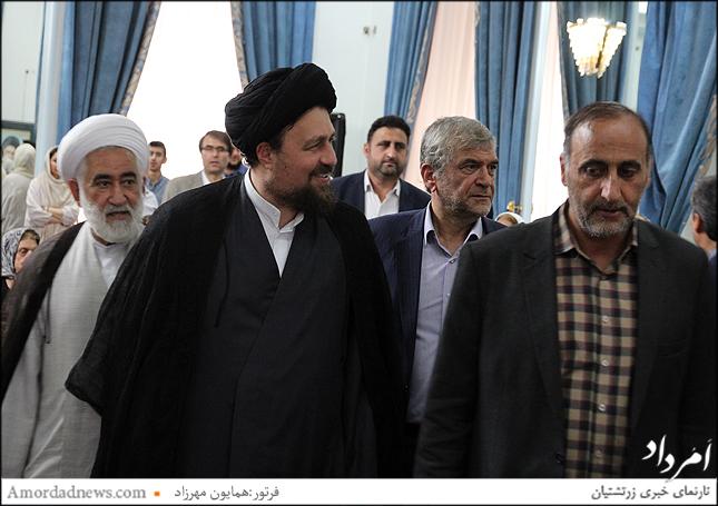 حجت الاسلام و المسلمین سید حسن خمینی