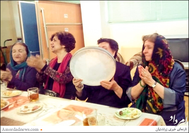در بخش برنامههای شاد ایران اشیدری و پوران بامسی و مهری غیبی ترانههای محلی و دفنوازی اجرا کردند