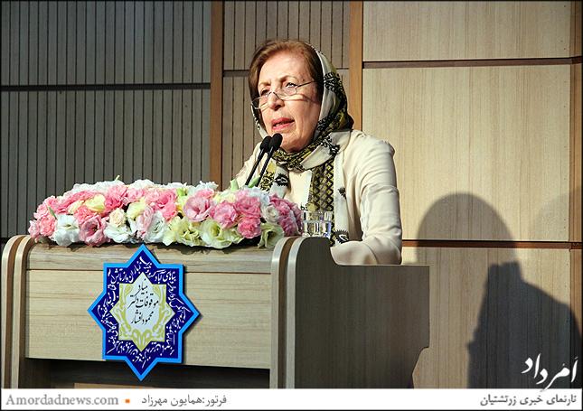 دکتر ژاله آموزگار استاد برجسته فرهنگ و زبان ایران باستان