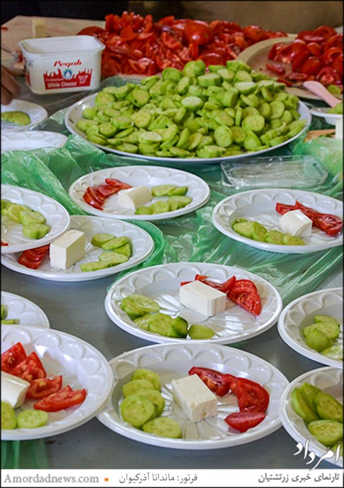 باشندگان پیکنیک دانشآموزی با صبحانه و خوراک نیمروزی پذیرایی شدند