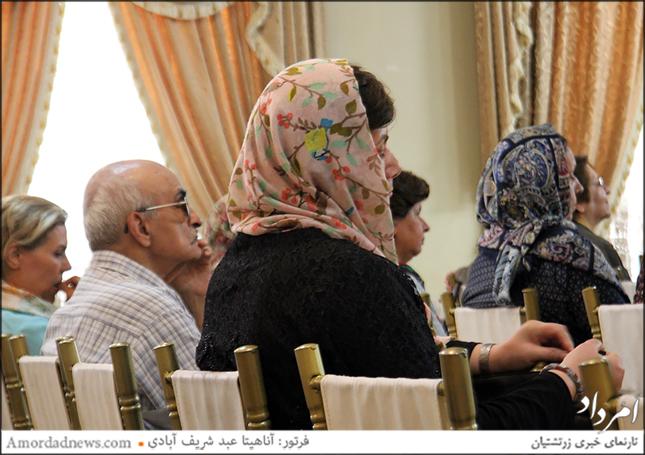 سخنرانیهای ماهانهی سازمان زنان زرتشتی دوشنبهی آغاز هر ماه برگزار میشود