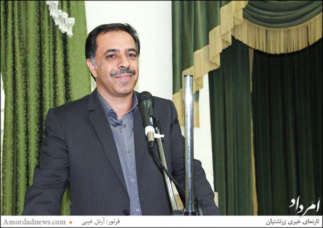 آرش ضیاطبری از سوی انجمن زرتشتیان کرمان به باشندگان جشن تیرگان را شادباش گفت