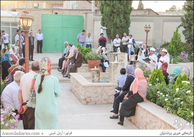 خجسته آیین جشن تیرگان  یکشنبه ۱۰ تیرماه از ساعت 18 و 30 دقیقه در آتشکدهی کرمان برگزار شد