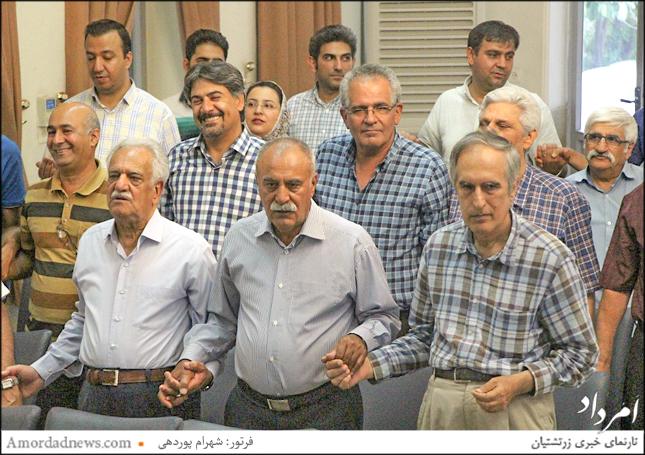 همازوری باشندگان در جشن تیرگان شیراز