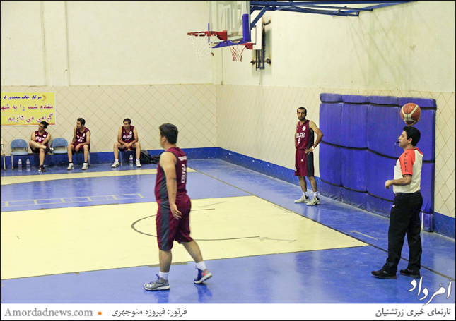 تیم بسکتبال جوانان زرتشتی یزد نتیجه را واگذار کرد