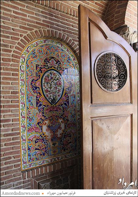 درورودی موزه مقدم