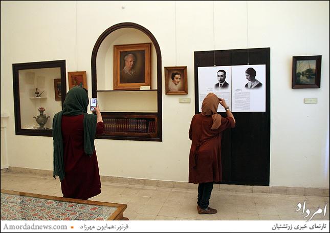 تالار حسن مقدم برادر محسن مقدم که نمایش و آموزش  تیاتر را به ایران آورده است