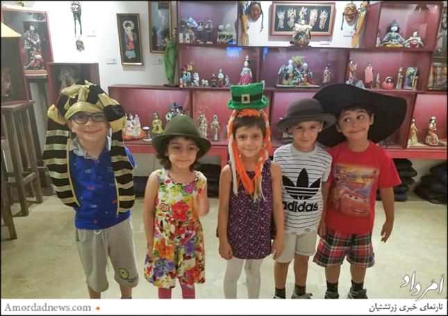 کودکان زرتشتی گروه سنی۳ تا ۷ سال یک روز شاد را در میان عروسکها تجربه کردند