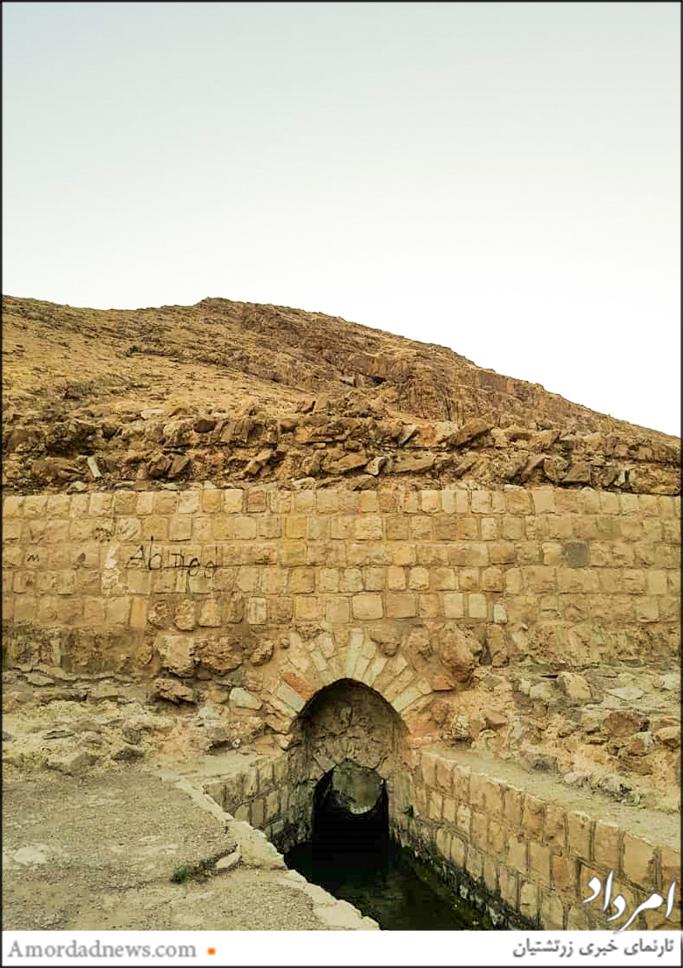 آب انباشت شده در گرداب سنگی به دیگر بخشهای شهر هدایت می شده است