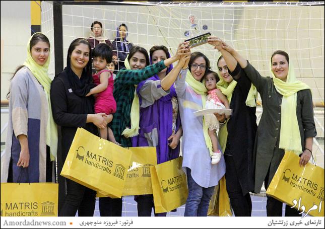 جایگاه نخست فوتسال بانوان، جام ایراندخت، برای تیم رحمتآباد