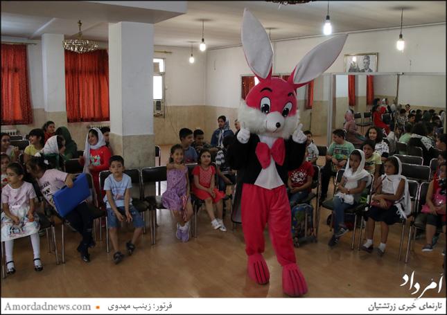 جشن شکوفههای سازمان فروهر با برگزاری ویژه برنامه هنری