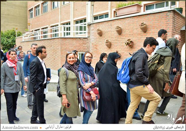 بازدید موزهداران ایرانی و کشورهای دیگر از موزه آراداک مانوکیان
