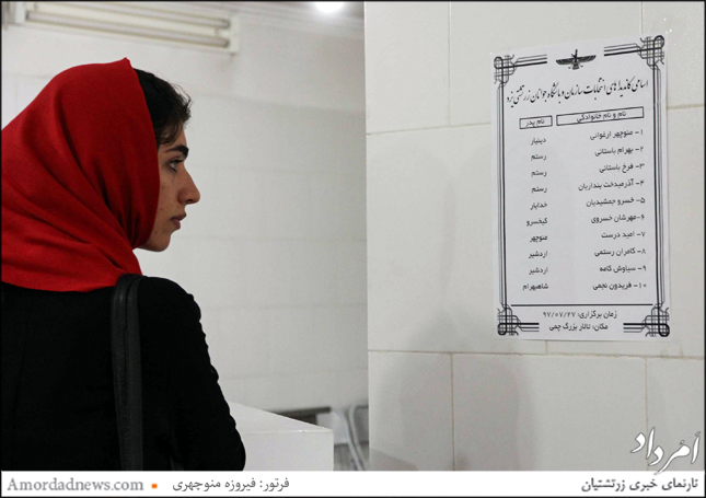 هیات مدیره سازمان و باشگاه جوانان زرتشتی یزد مشخص شد