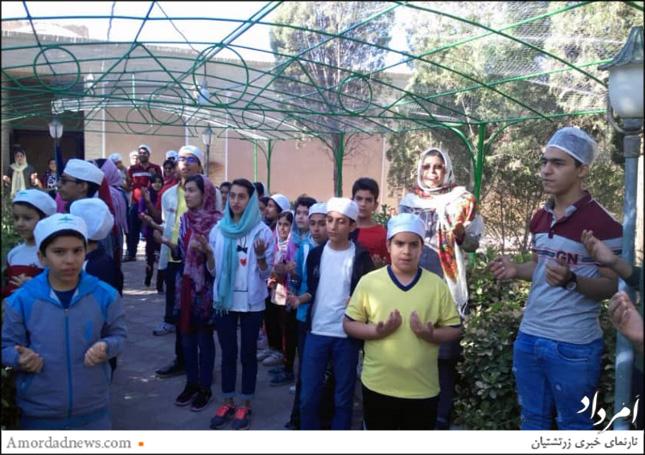 گردش یک روزه گروه گاتها پویان یزد به سرپرستی شهناز شهزادی برگزار شد
