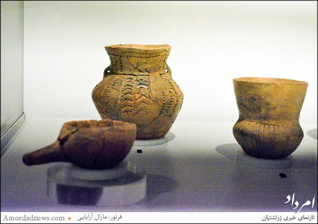 آثاری از فرهنگ جامهای قیفی شکل