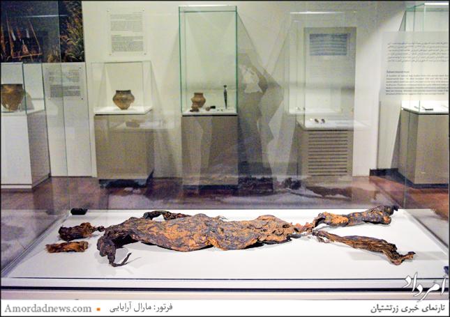 جسد مرد مومیایی طبیعی اکسلورموند