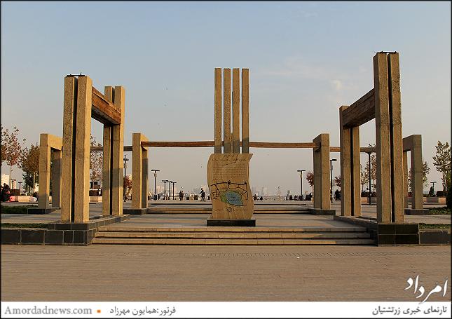 ورودی غربی دریاچه خلیج فارس