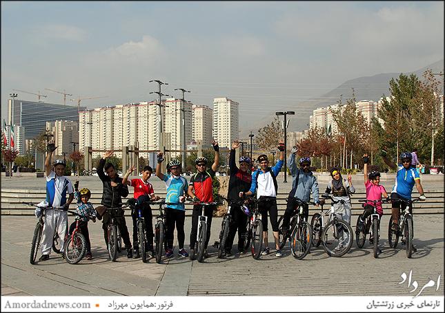 گروه هیات دوچرخه سواری محمد شهر کرج