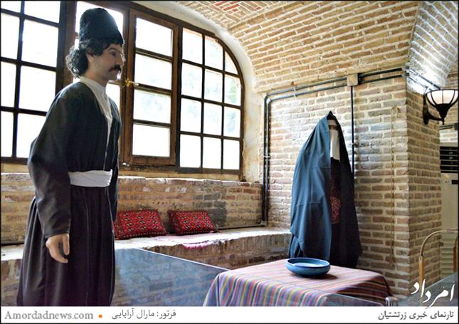 زیرزمین موزه تهران قدیم، که میتوان موزه مردم شناسی تهران بهشمار آورد