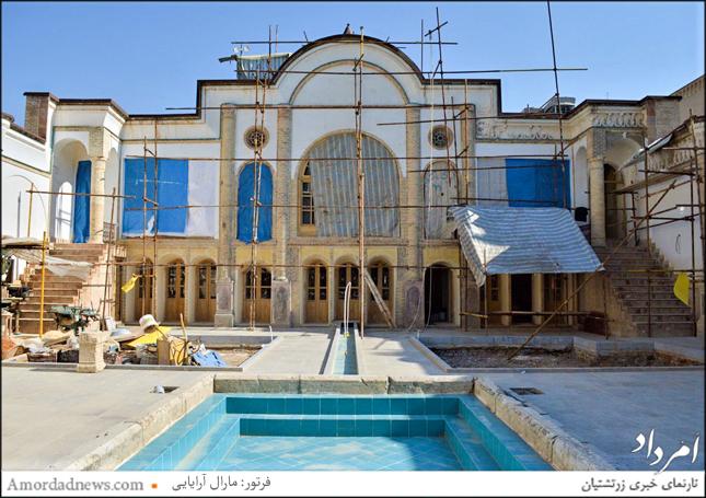 بازآرایی خانهای قاجاری در خیابان صوراسرافیل