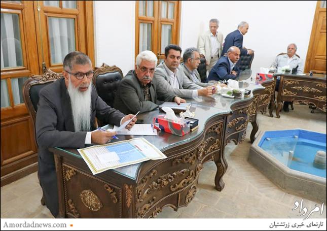 بهرام مهررستمی، بازرس انجمن زرتشتیان یزد
