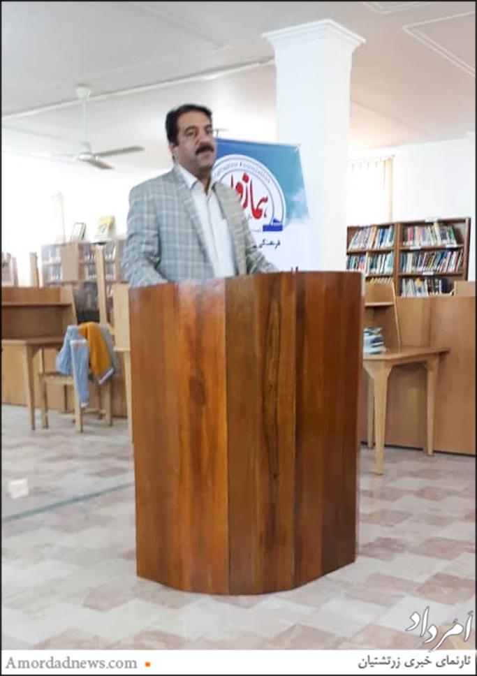 خلف حوتینژاد، معاون فرهنگی اداره کل فرهنگ و ارشاد یزد