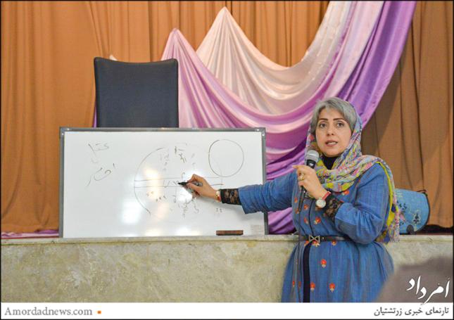 گوهرناز پشوتنیزاده، کارشناس روانشناسی