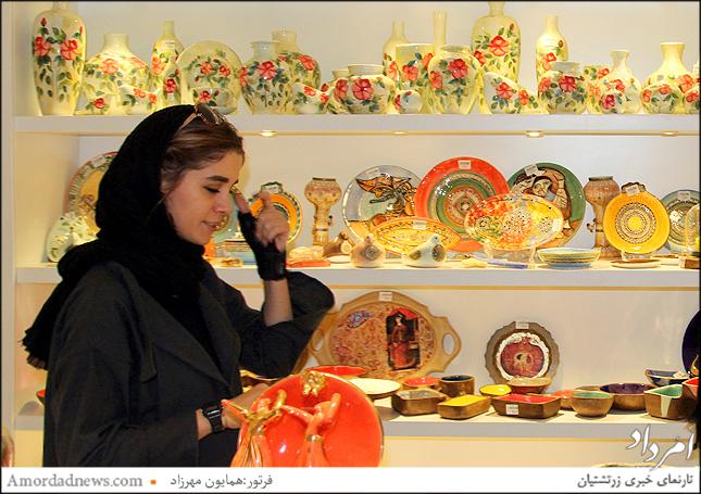 رقص رنگ و نقش بر چهرهی سفال ایرانی