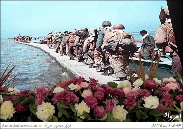 پاسداشت جایگاه جانسپاران زرتشتی در هفته دفاع مقدس