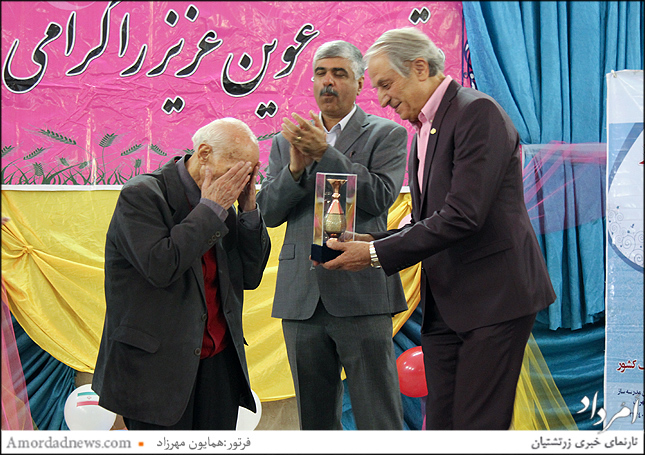 سپاسداری از دکتر فرهود پدر ژنتیک ایران